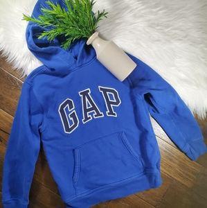 GAP Kids Blue/Black Hoodie/Sweatshirt sz Large